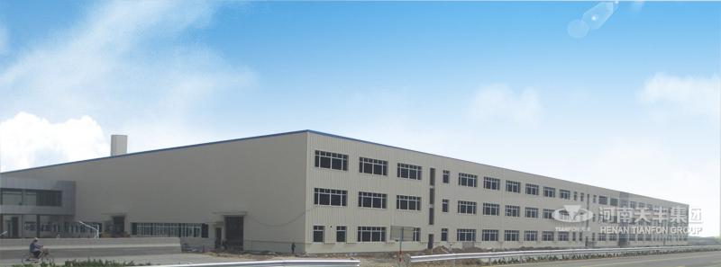 长城汽车二期钢结构厂房整体图片