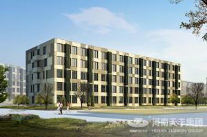 富士康蓝天公寓、天时公寓工程