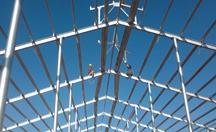 光明乳业钢结构厂房项目