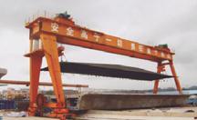 广东韶关450吨提梁机